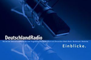 Imagebroschüre Cover 270 x 180 mm Deutschlandradio