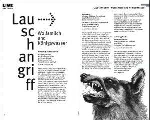 Hörspielprogramm Doppelseite Westdeutscher Rundfunk