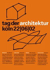 Plakat (Entwurf) Architektenkammer NRW