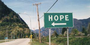 Postkarte DIN lang Hope, Kanada