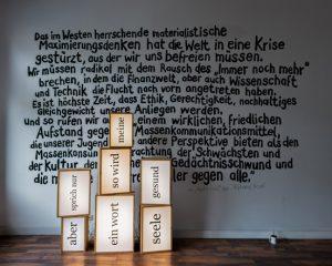 Gegenüberstellung Chu Galerie, Köln März 2013 (Foto: Gregor Kaluza)