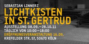 Lichtkisten St. Gertrud, Köln September 2011