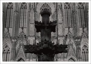 11 Domdetails - Der Kölner Dom in Detailansichten Postkarten Edition im Umschlag Bestellung per Mail 9,- Euro
