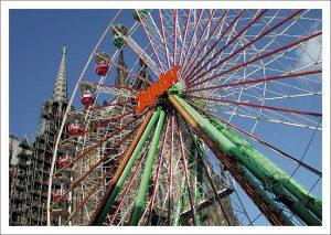 11 Kölner Ansichten - Von Mediapark bis Melaten Postkarten Edition im Umschlag