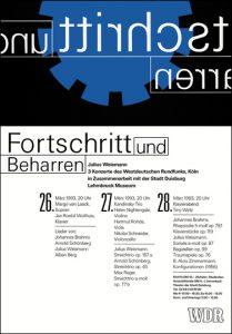 Plakat DIN A1 Westdeutscher Rundfunk