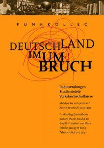 Plakat DIN A2 Deutschlandradio