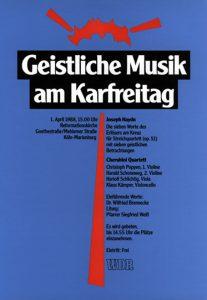 Plakat DIN A2 Westdeutscher Rundfunk