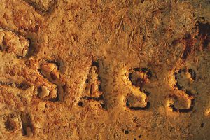 Schrift Zeichen Spuren 06 Sardinien 1997