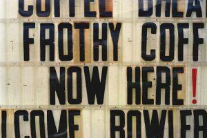 Schrift Zeichen Spuren 14 Vancouver 1999